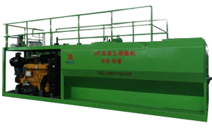 2018 Newest 175kw HKP hydroseeding machine